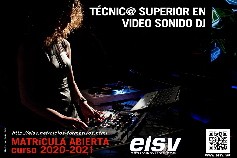 Matricula 2020 - 2021 Técnico de grado medio en Video Sonido DJ