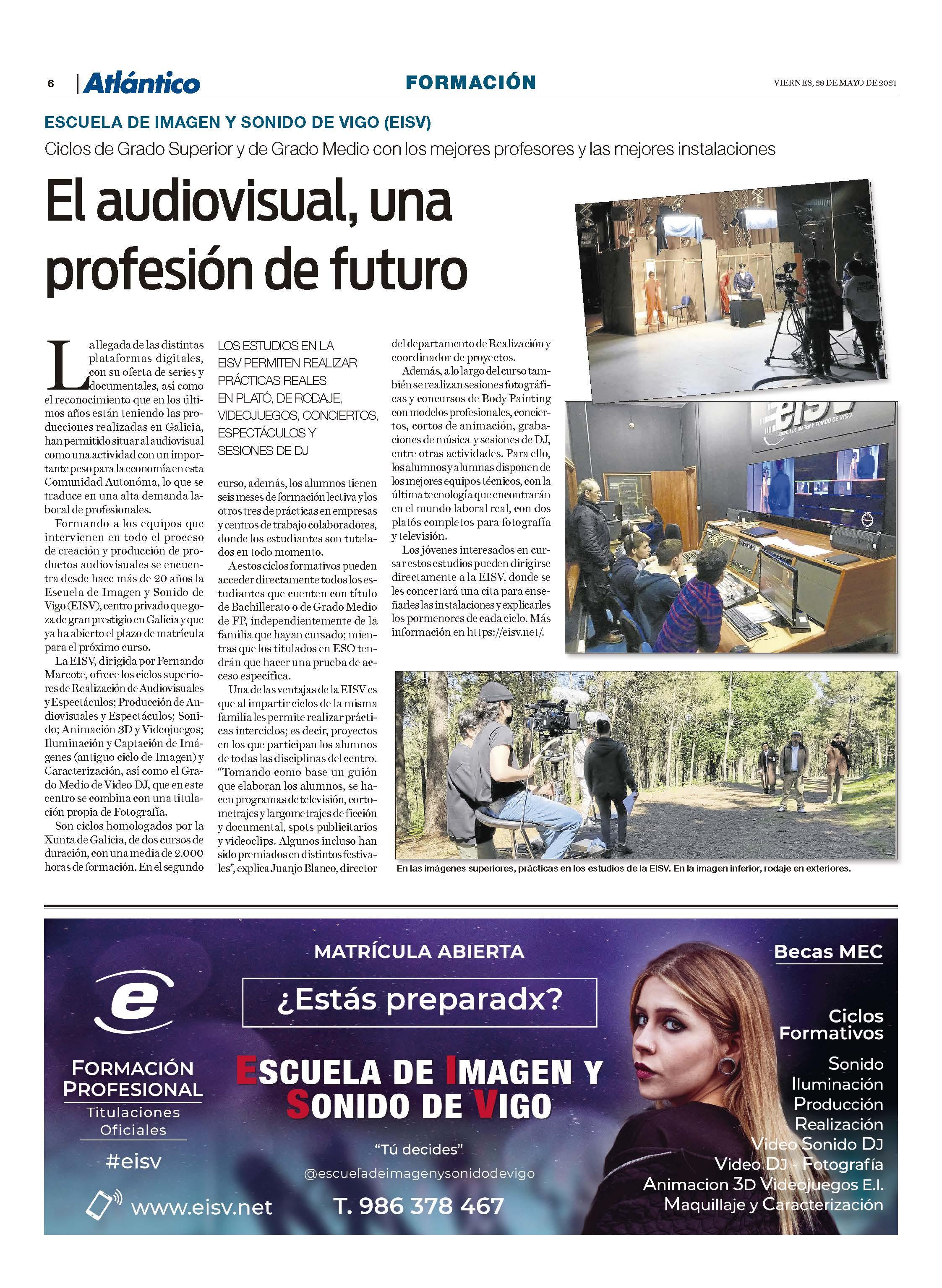 EISV en Atlántico diario